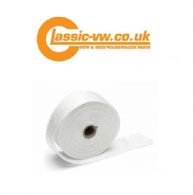 Exhaust Heat Protective Wrap With Ceramic Fibres 10 Mtr Roll.
